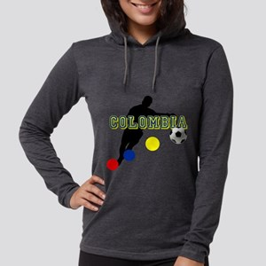 Columbia Soccer Player Womens Hooded Shirt