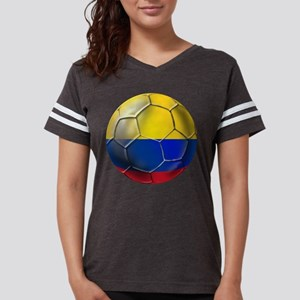 Colombia Soccer Ball Womens Football Shirt