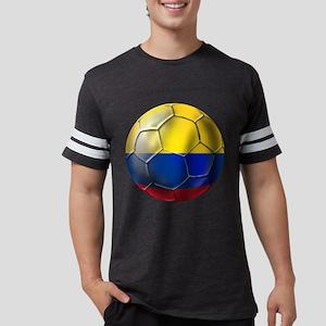 Colombia Soccer Ball Mens Football Shirt