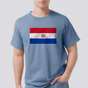 Flag of Paraguay Mens Comfort Colors Shirt