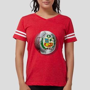 Peru Soccer Ball Womens Football Shirt
