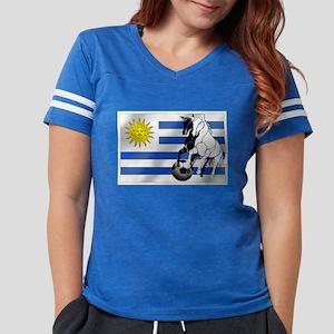 Uruguay Soccer Flag Womens Football Shirt