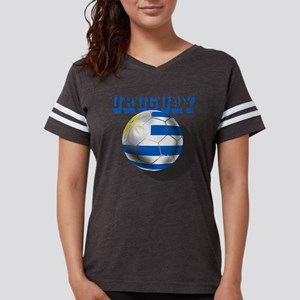 Uruguay Soccer Ball Womens Football Shirt