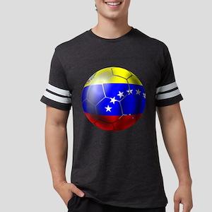 Venezuela Soccer Ball Mens Football Shirt