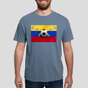 Venezuela Soccer Flag Mens Comfort Colors Shirt