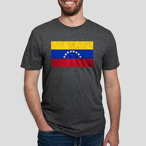 Flag of Venezuela Mens Tri-blend T-Shirt