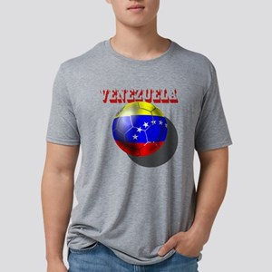 Venezuela Futbol Mens Tri-blend T-Shirt