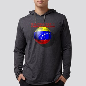 Venezuela Futbol Mens Hooded Shirt