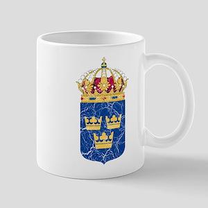 Sweden Lesser Coat Of Arms Mug