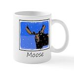 Winter Moose 11 oz Ceramic Mug