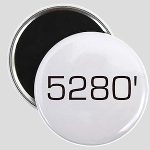 5,280 feet Magnet