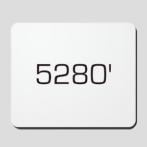 5,280 feet Mousepad