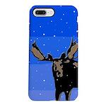 Winter Moose iPhone 7 Plus Tough Case