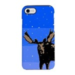 Winter Moose iPhone 7 Tough Case