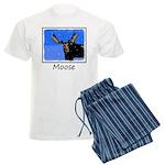 Winter Moose Men's Light Pajamas