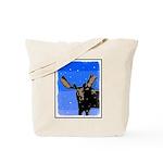 Winter Moose Tote Bag