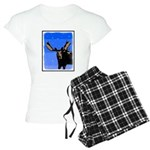 Winter Moose Women's Light Pajamas