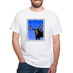 Winter Moose White T-Shirt