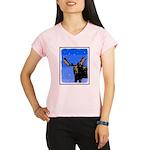 Winter Moose Performance Dry T-Shirt