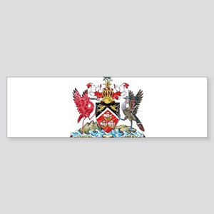 Trinidad and Tobago Coat Of Arms Sticker (Bumper)