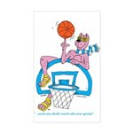 Ok-9 Inspiration (basketball) Sticker (rect.)