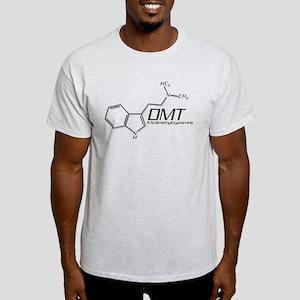 DMT Molecule Grey Light T-Shirt