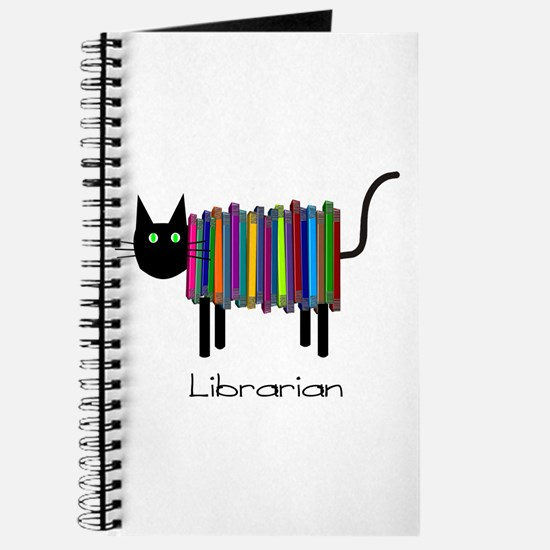 Librarian Book Cat.PNG Journal