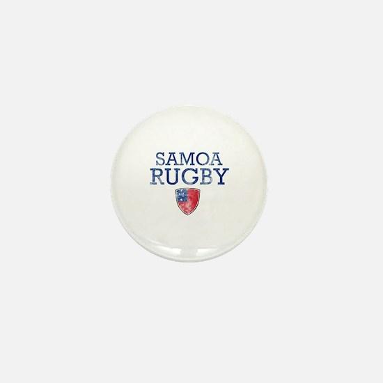 Samoa Rugby designs Mini Button
