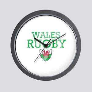 Wales Rugby designs Wall Clock