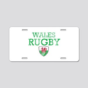 Wales Rugby designs Aluminum License Plate