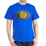 Indian gold oval 1 Dark T-Shirt