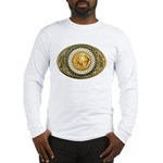 Indian gold oval 1 Long Sleeve T-Shirt