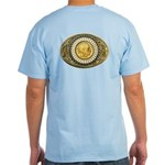 Indian gold oval 1 Light T-Shirt