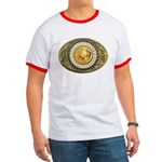 Indian gold oval 1 Ringer T