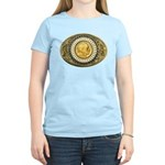 Indian gold oval 1 Women's Light T-Shirt