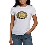Indian gold oval 1 Women's T-Shirt