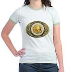 Indian gold oval 1 Jr. Ringer T-Shirt