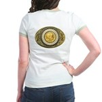 Indian gold oval 1 Jr. Ringer T-Shirt