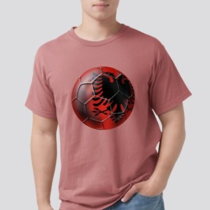 Albanian Football Mens Comfort Colors Shirt