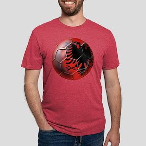 Albanian Football Mens Tri-blend T-Shirt