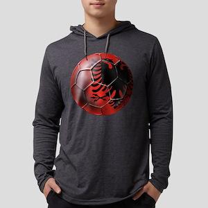Albanian Football Mens Hooded Shirt