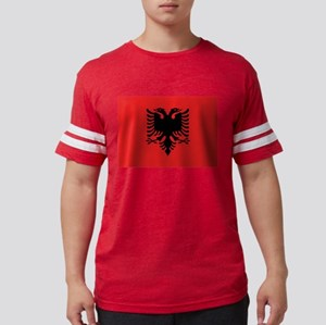 Flag of Albania Mens Football Shirt