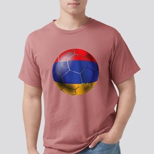 Armenia Soccer Ball Mens Comfort Colors Shirt