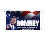 Romney Believe 2012 Banner