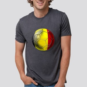 Belgium Football Mens Tri-blend T-Shirt