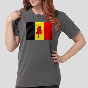 Belgian Red Devils Womens Comfort Colors Shirt