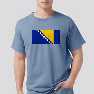 Flag of Bosnia Mens Comfort Colors Shirt