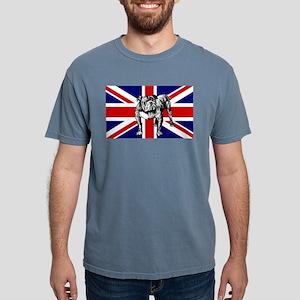 British Bulldog Flag Mens Comfort Colors Shirt