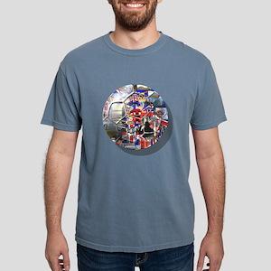british culture Mens Comfort Colors Shirt
