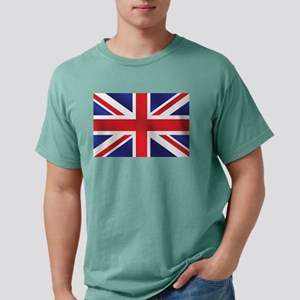 Union Jack UK Flag Mens Comfort Colors Shirt